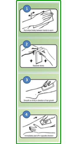 direction-for-use-wax-strips