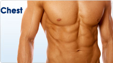 Back Chest And Abdomen Hair Removal Waxing For Men